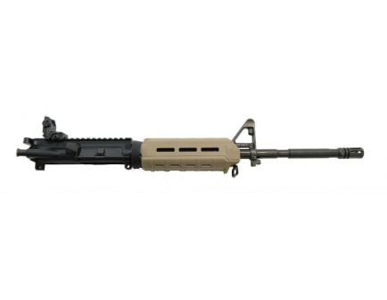 "PSA 16"" M4 Carbine Length 5.56 NATO 1/7 Phosphate MOE Upper With BCG, CH, & Rear MBUS - Flat Dark Earth"