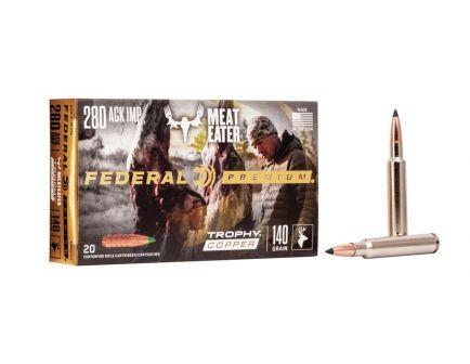 Federal Trophy Copper .280 Ackley Improved 140 gr 20 Rounds Ammunition