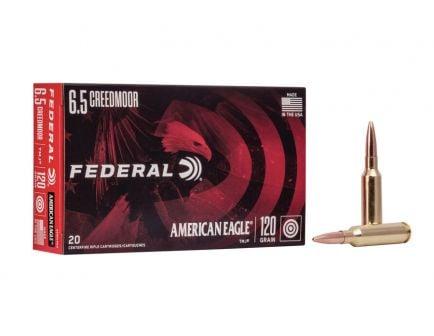Federal American Eagle Rifle 120 gr TMJ 6.5 Creedmoor Ammunition 20 Rounds