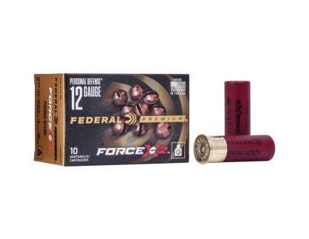 """Federal Force X2 2.75"""" 9 Pellet 00 Buck 12 Gauge Ammunition 10 Rounds"""