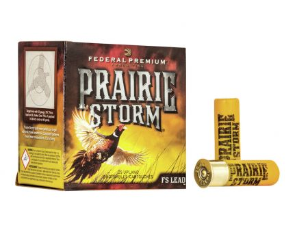 "Federal Prairie Storm 2.75"" 1 1/4 oz 4 Shot 16 Gauge Ammunition 25 Rounds"