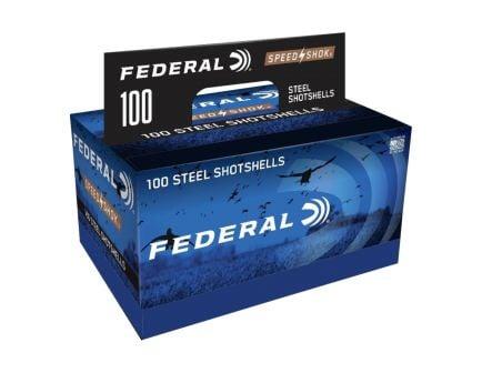 "Federal Speed Shok 12 Gauge 3"" 1 1/4 oz 4 Shot 100 Rounds"