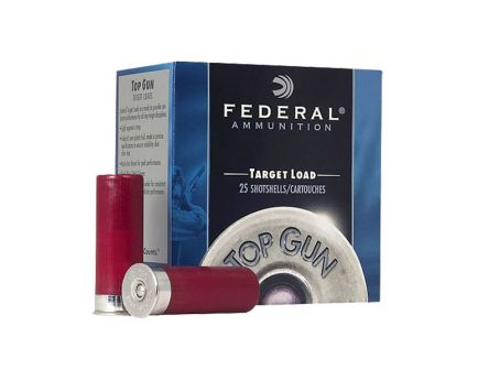 "Federal Top Gun 2.75"" 12 Gauge Ammo 1 oz 7.5 Shot 25 Rounds"