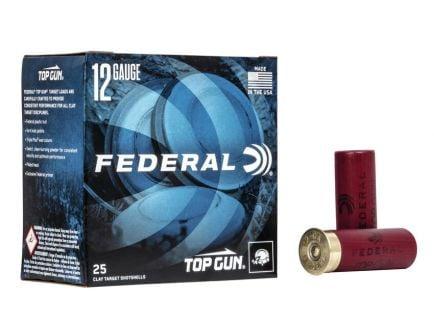 "Federal Top Gun 2.75"" 1 1/8oz #7.5 Shot 12 Gauge Ammo 25 Rounds"