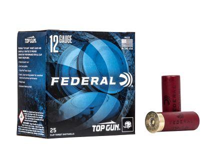 "Federal Top Gun 12 Gauge 2-3/4"" 8 Shot 1-1/8 oz Shotshell, 25/Box - TGL12 8"