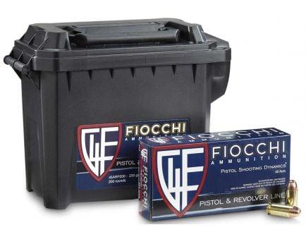 Fiocchi 45 Auto/ACP 230gr FMJ Ammunition 200rd Range Pack for sale