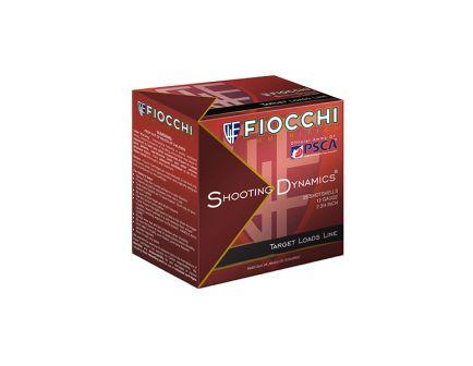 "Fiocchi Light Shooting Dynamics 2.75"" 1 oz 8 Shot 12 Gauge Ammunition 25 Rounds"