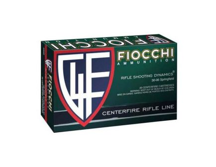 Fiocchi Shooting Dynamics 180 gr PSP 30-06 Springfield Ammo For Sale