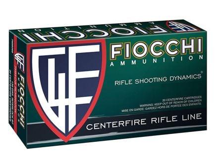 Fiocchi Shooting Dynamics 55 gr FMJ .223 Remington Ammunition, 20 Rounds