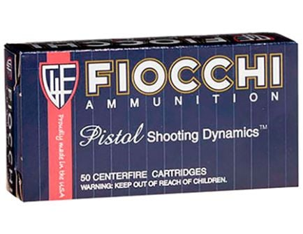 Fiocchi 38 Special 130gr FMJ Ammunition 50rds - 38A
