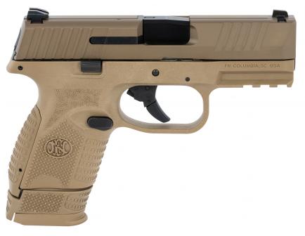 """FN 509C 9mm Pistol 3.7"""" 15rd, FDE - 66-100818"""