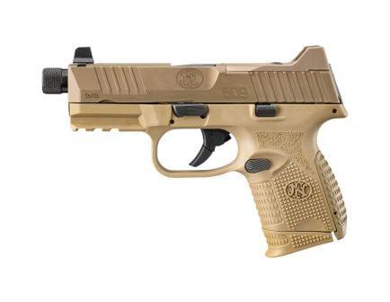 FN 509C Tactical Threaded Barrel 9mm Pistol, FDE