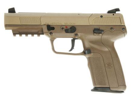 FN FiveSeven 10 Round 5.7x28 Pistol, Flat Dark Earth