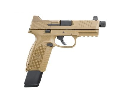 "FN 509 Tactical 4.5"" 9mm Pistol 17/24 Round, FDE - 100373"
