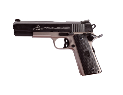 """Rock Island Armory 1911A1 5""""  .45acp Tactical  Two Tone 51447"""
