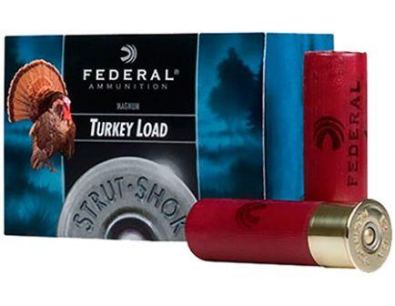 "Federal 12ga 3.5"" Magnum 2oz #5 Strut-Shok Magnum Lead Turkey Shotshells 10rds - -FT139F 5"