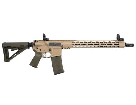 "PSA Custom 5.56 NATO 16"" Nitride 15"" Slim-Line MLOK MOE Rifle w/ MBUS"