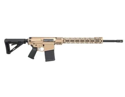 "PSA Custom PA10 6.5 Creedmoor, 20"" Nitride Mid-Length 15"" Cross-Cut MLOK MOE Rifle w/ 2-Stage NiB FCG, Tan"