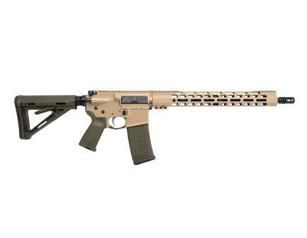 "PSA Custom 5.56 NATO 16"" Mid-Length 1:7 Nitride 15"" Slim-Line M-LOK MOE Rifle w/ 2-Stage FCG"