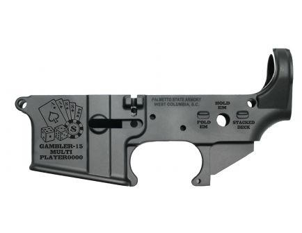 "PSA AR-15 ""GAMBLER-15"" Stripped Lower Receiver"