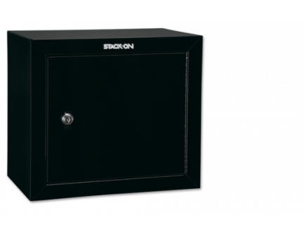 Stack-On Black Pistol and Ammo Steel Cabinet with 1 Shelf GCB-500