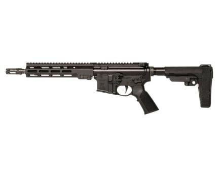 """Geissele Super Duty 10.3"""" 5.56 AR-15 Pistol, Luna Black"""