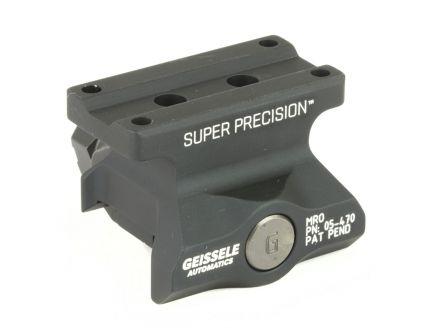 Geissele Super Precision Trijicon MRO Lower 1/3 Co-Witness Mount, Black