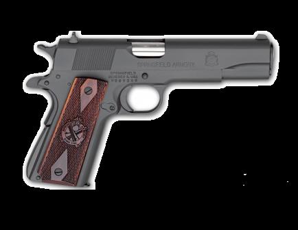 Springfield Armory 1911 .45 ACP Mil-Spec Parkerized Handgun - PB9108LP