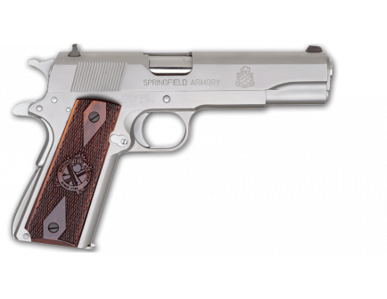 """Springfield Armory 1911 5"""" .45ACP Stainless Steel Full Size PB9151LP"""