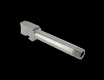 StormLake for Glock 26 9mm Stainless Threaded 1/2''-28 4.16'' Ext. Length Brl GL-26-9MM-416-01T-T