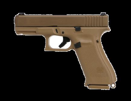 """Glock 19X Gen5 9mm Pistol 17rd 4"""" GNS, FDE - G19X17US"""