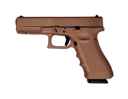 Glock 17 Gen 3 9mm Pistol, Copper