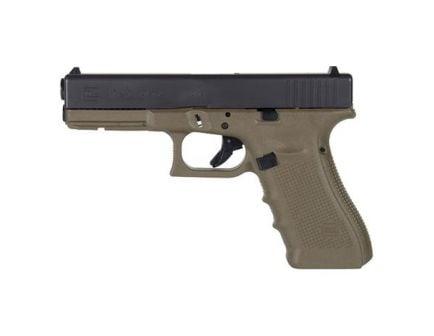 Glock 17 Gen 4 9mm Pistol, OD Green/Black