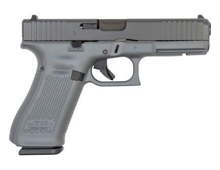 Glock 17 Gen 5 FS 9mm Pistol, Concrete Gray