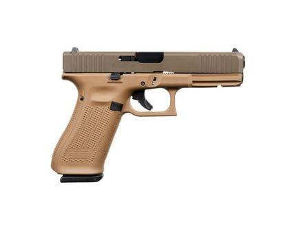 Glock 17 Gen 5 FS 9mm Pistol  For Sale, DDE/Patriot Brown