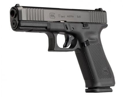 Glock 17 Gen 5 FS MOS 9mm Pistol | Black