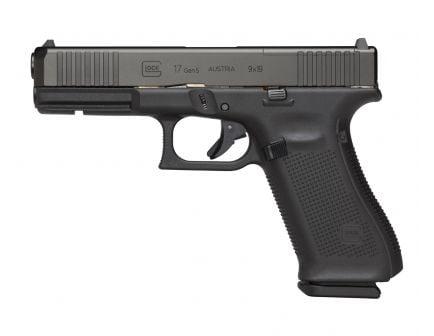 Glock 17 Gen 5 FS MOS 9mm Pistol, Black