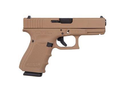 Glock 19 Gen 4 9mm Pistol | Dark Earth