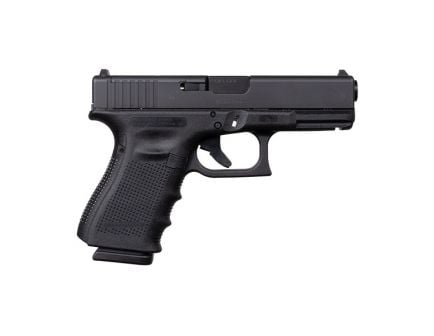 Glock 19 Gen 4 MOS 9mm Pistol, Black