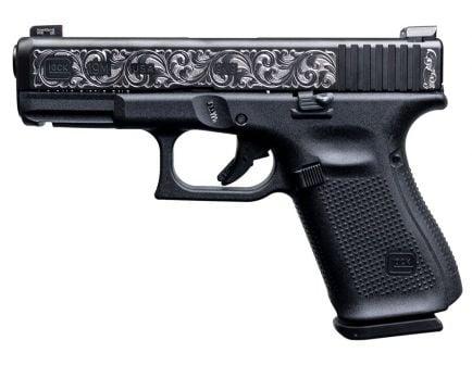 Glock 19 Gen 5 9mm Pistol, Engraved