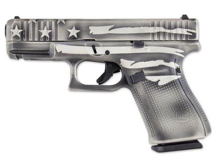 Glock 19 Gen 5 FS 9mm Pistol, Battleship Gray