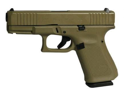 Glock 19 Gen 5 FS 9mm Pistol For Sale, Flat Dark Earth