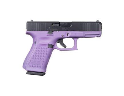 Glock 19 Gen 5 FS 9mm Pistol, Purple/Black