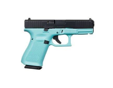Glock 19 Gen 5 FS 9mm Pistol, Robin's Egg Blue