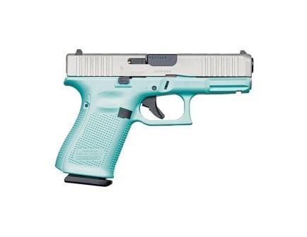 Glock 19 Gen 5 FS 9mm Pistol For Sale, Robin's Egg Blue