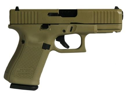 Glock 19 Gen 5 FS US 9mm Pistol, Flat Dark Earth