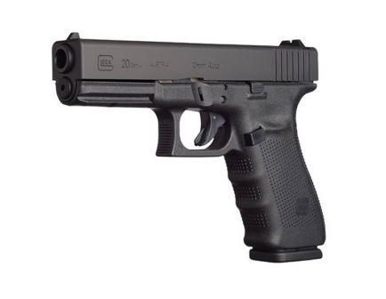 Glock 20 Gen 4 10 Round 10mm Pistol, Black