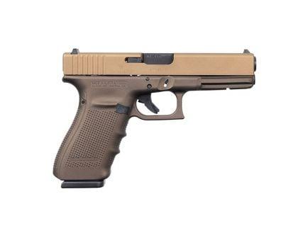 Glock 20 Gen 4 10mm Pistol, Burnt Bronze