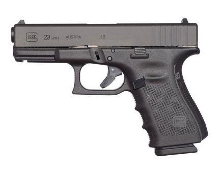 Glock 23 Gen 4 Used .40 S&W Pistol, Black