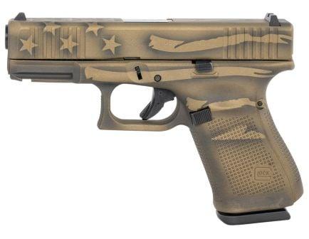 Glock 23 Gen 5 .40 S&W Pistol, Battleworn Bronze Cerakote